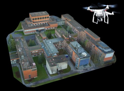 Remote-controlled drone helps in designing future wireless networks