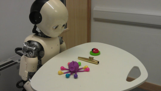 Toddler robots help solve how children learn