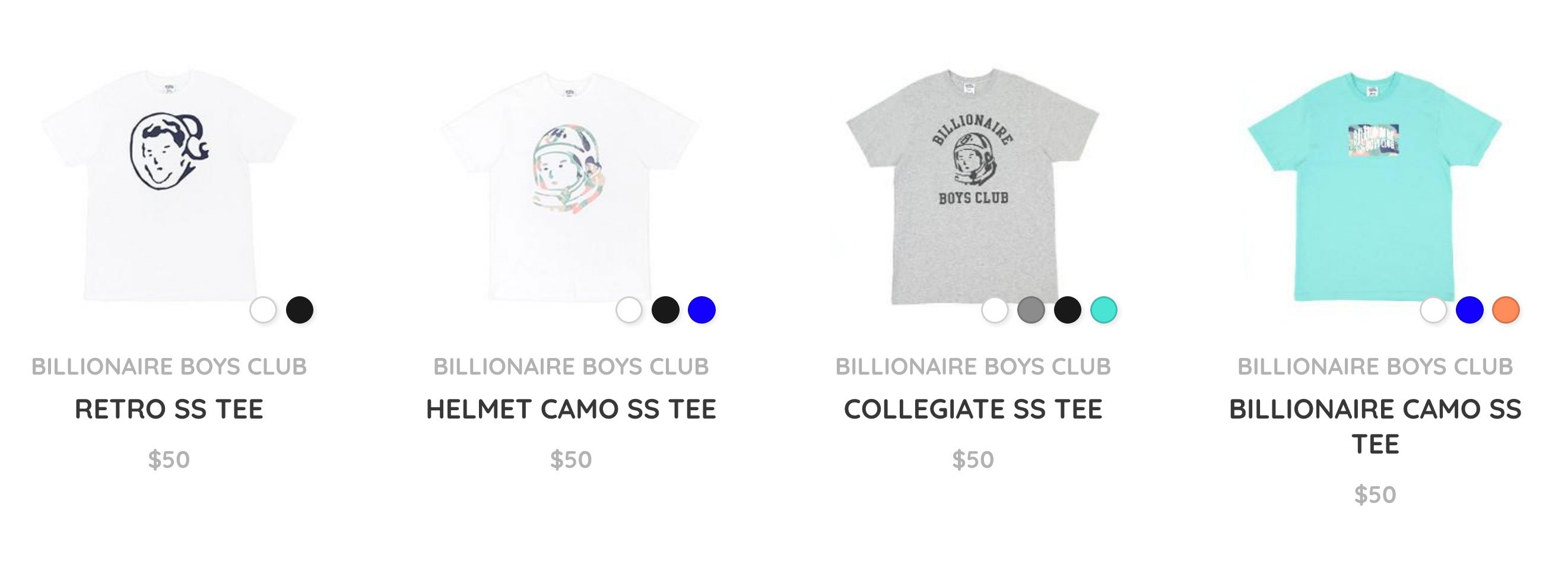 Billionaire Boys Club Example