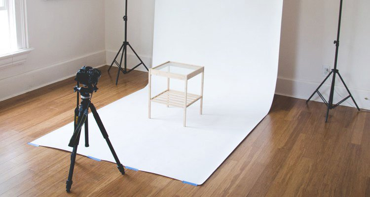 DIY Product Photography Set Up