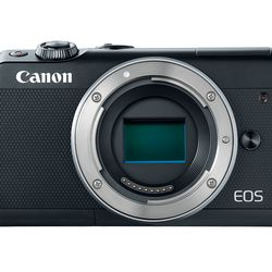 itech-dude-contents-HR_EOS_M100_BLACK_BODY_FRONT_CL Canon's new mirrorless camera is like an M5 in a smaller (and cheaper) body | iTech Dude - The Technology Blog