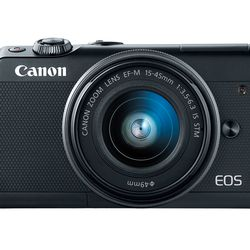 itech-dude-contents-HR_EOS_M100_BLACK_EFM15_45_FRONT_CL Canon's new mirrorless camera is like an M5 in a smaller (and cheaper) body | iTech Dude - The Technology Blog