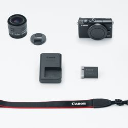 itech-dude-contents-HR_EOS_M100_BLACK_EFM15_45_KIT_CL Canon's new mirrorless camera is like an M5 in a smaller (and cheaper) body | iTech Dude - The Technology Blog