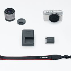 itech-dude-contents-HR_EOS_M100_WHITE_EFM15_45_KIT_CL Canon's new mirrorless camera is like an M5 in a smaller (and cheaper) body | iTech Dude - The Technology Blog