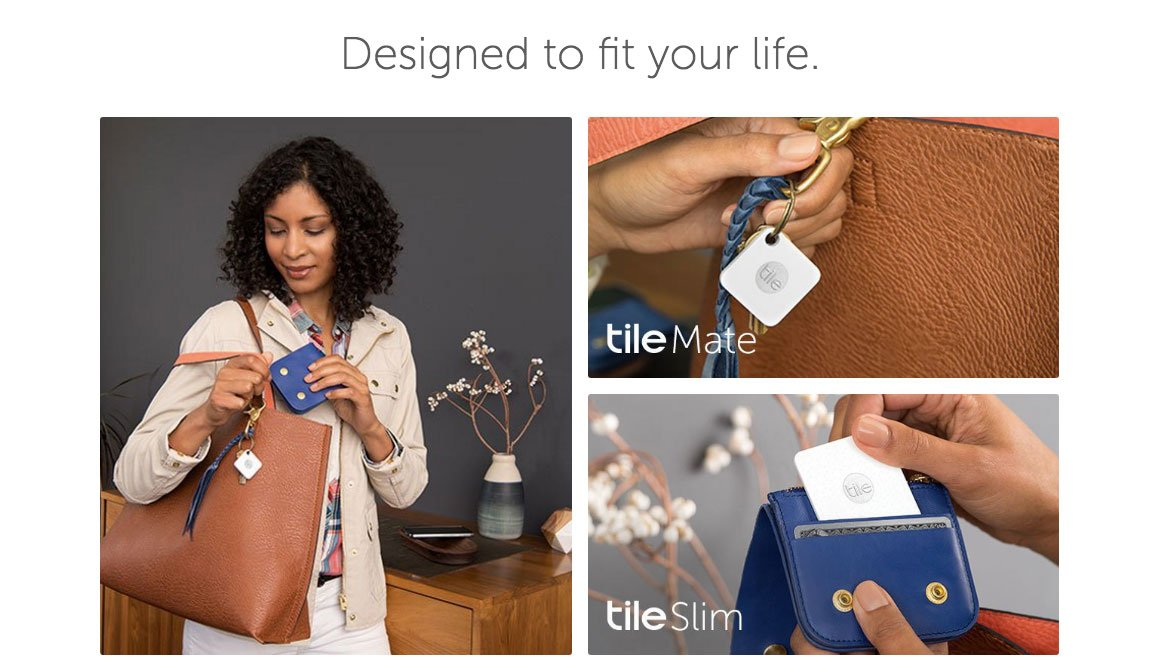 Tile Mate Product Page Collection Example