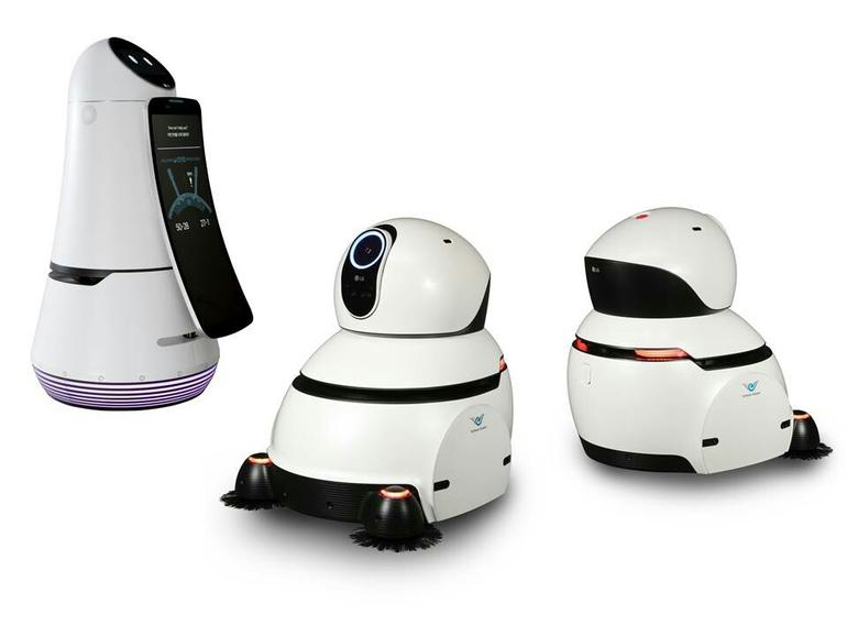 ​LG begins robot trials in Korean airport