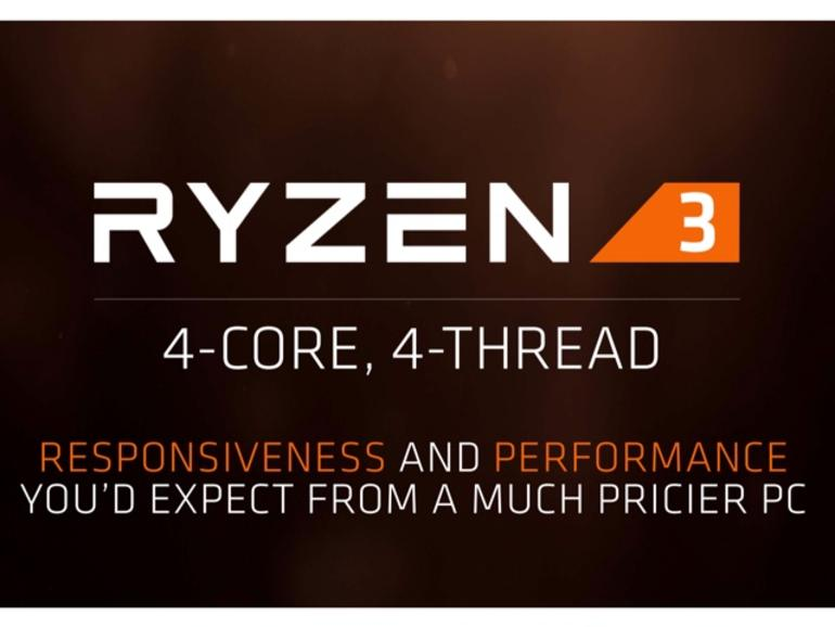 AMD Ryzen 3: A quad-core overlockable processor at a bargain price