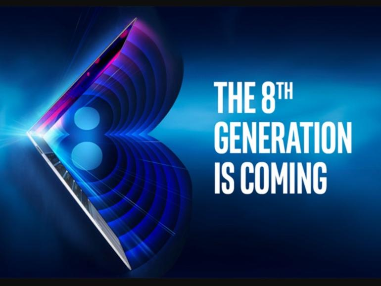 8th-generation Intel Core processors unveiling next week
