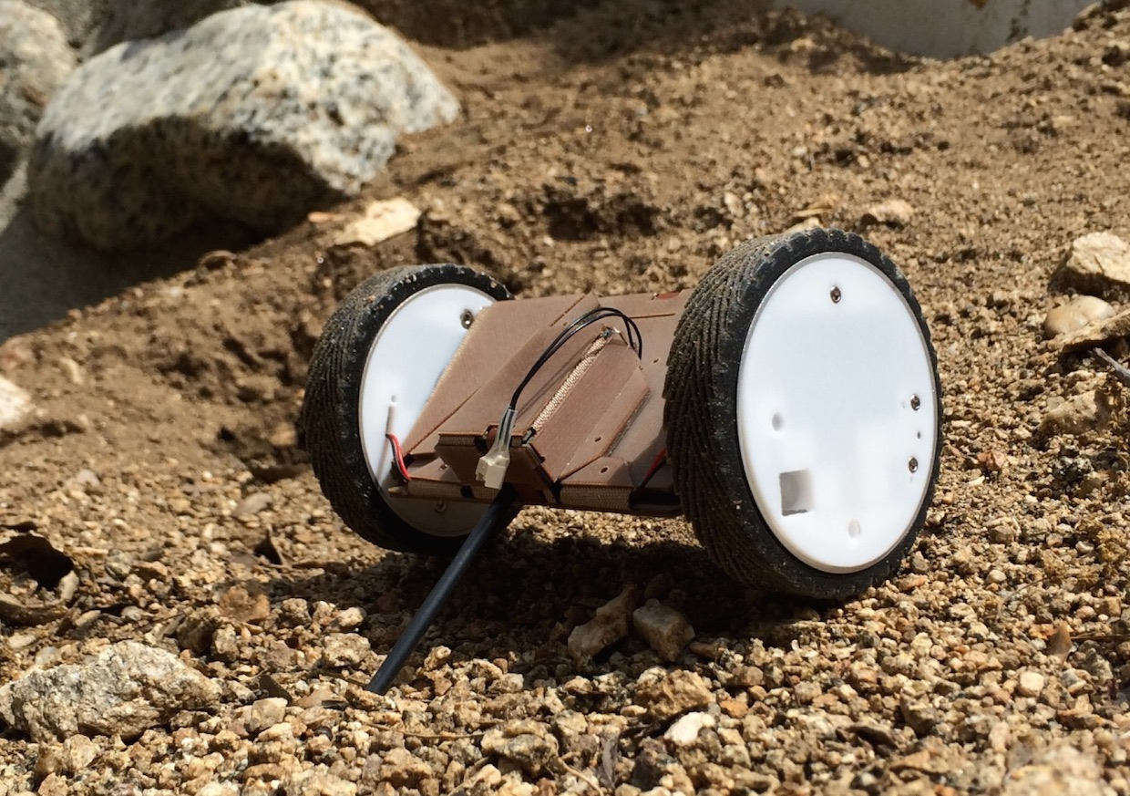 NASA Tests Origami-Inspired Robot That May One Day Explore Mars
