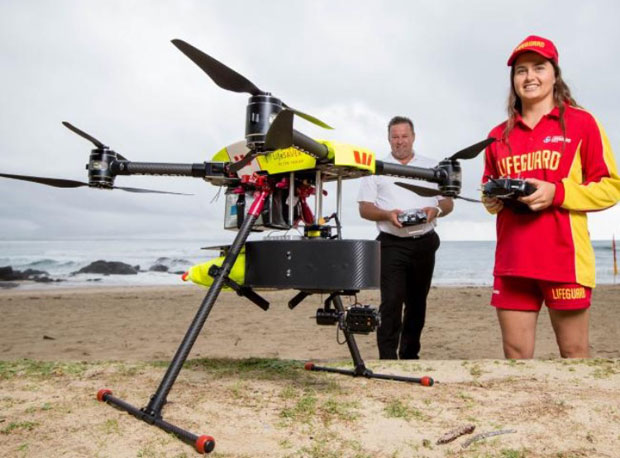 Drones and AI Take On Killer Sharks Down Under
