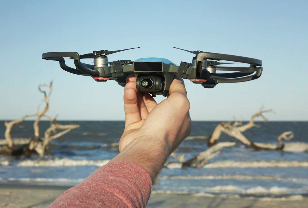 Video Friday: DJI Spark Drone, Google Tango, and 18-DOF Hexapod Robot