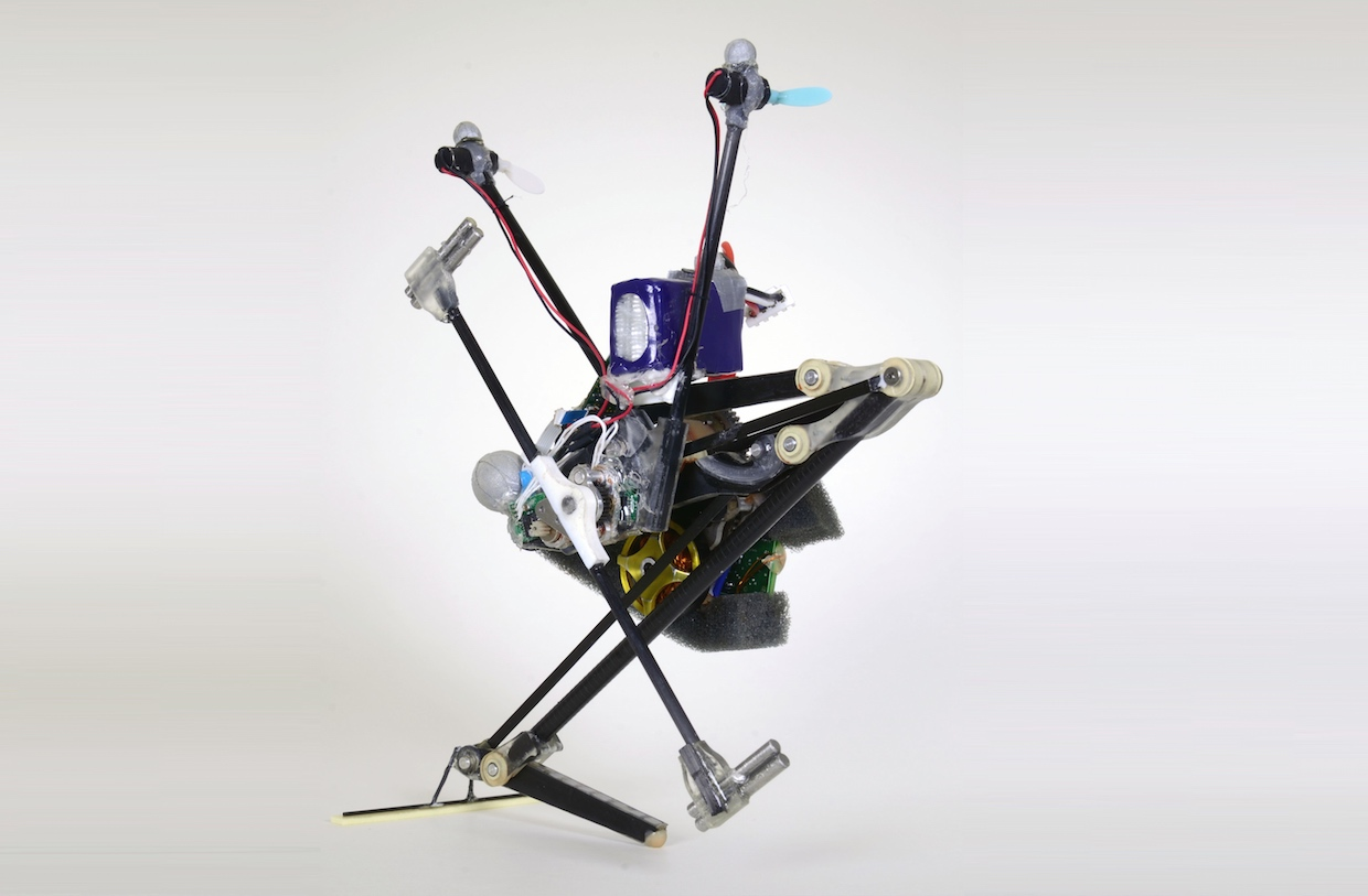 Salto-1P Is the Most Amazing Jumping Robot We