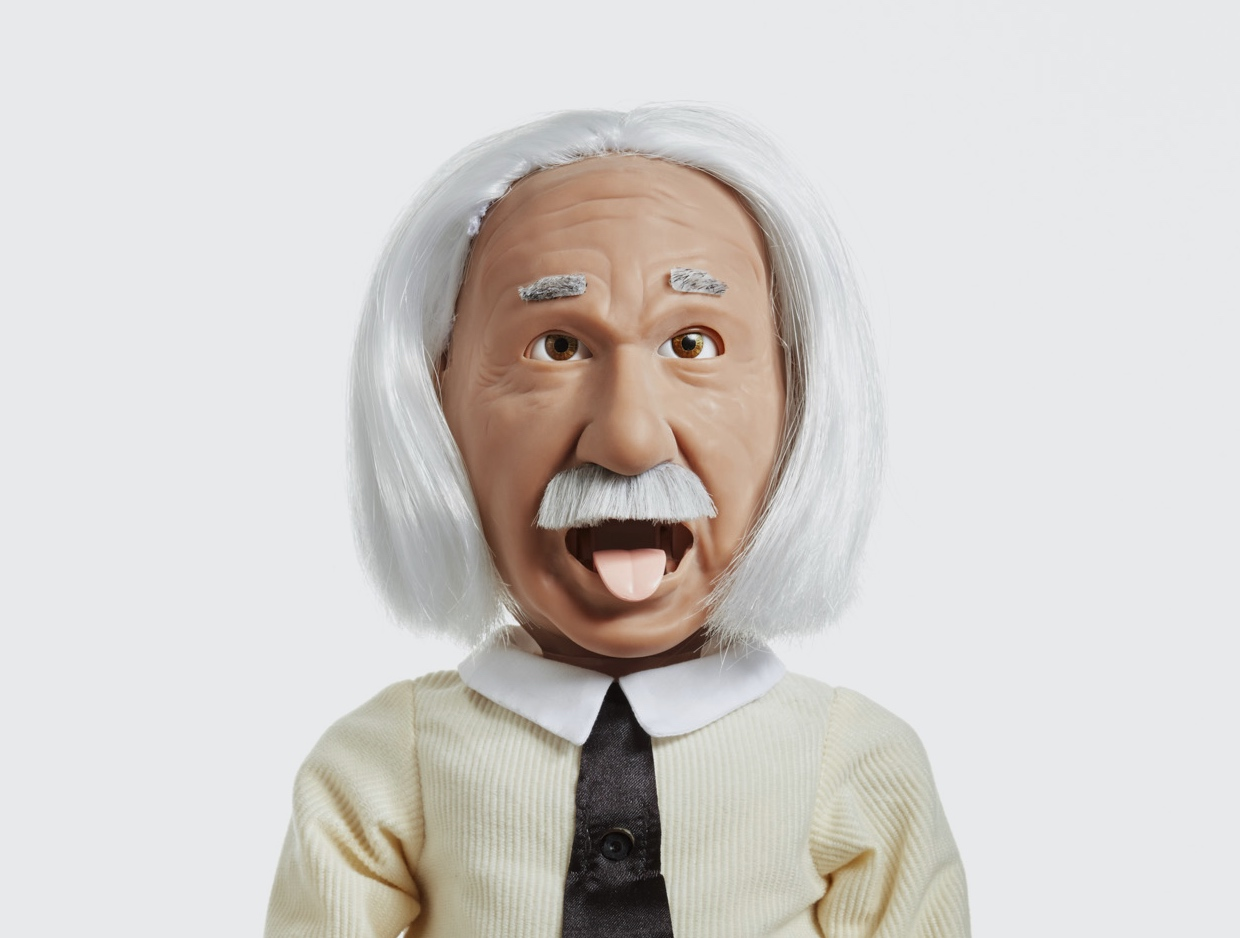 Professor Einstein Is a Fun, Wacky Robot That Loves to Talk About Science