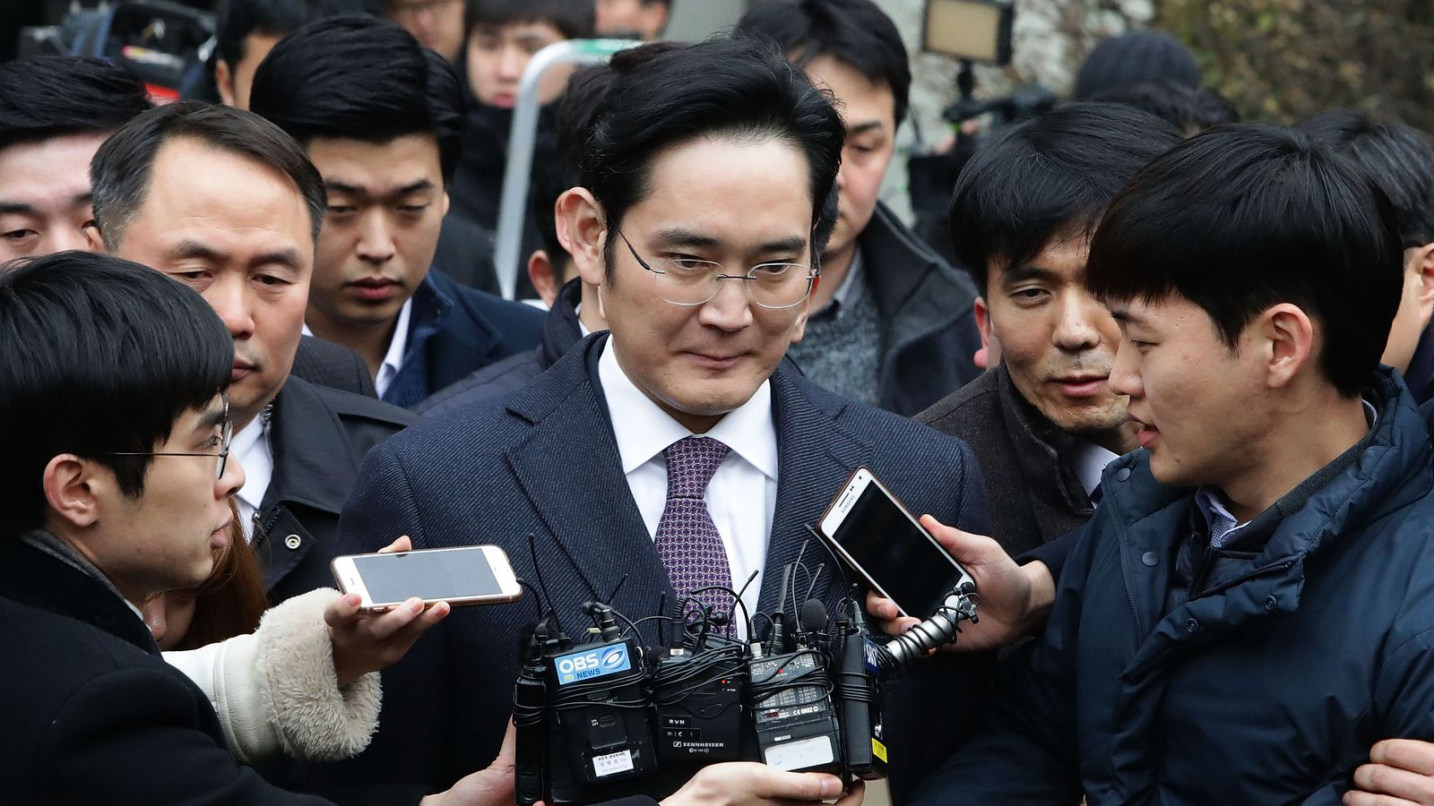 Samsung heir guilty of perjury, embezzlement, bribery