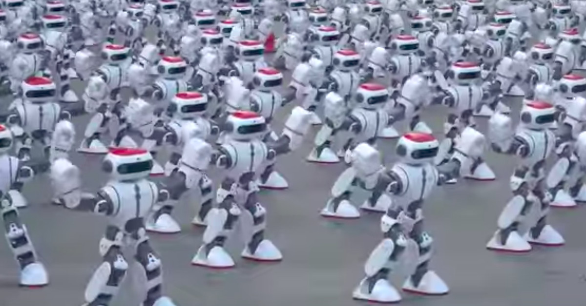 These robots have danced their way to a Guinness World Record