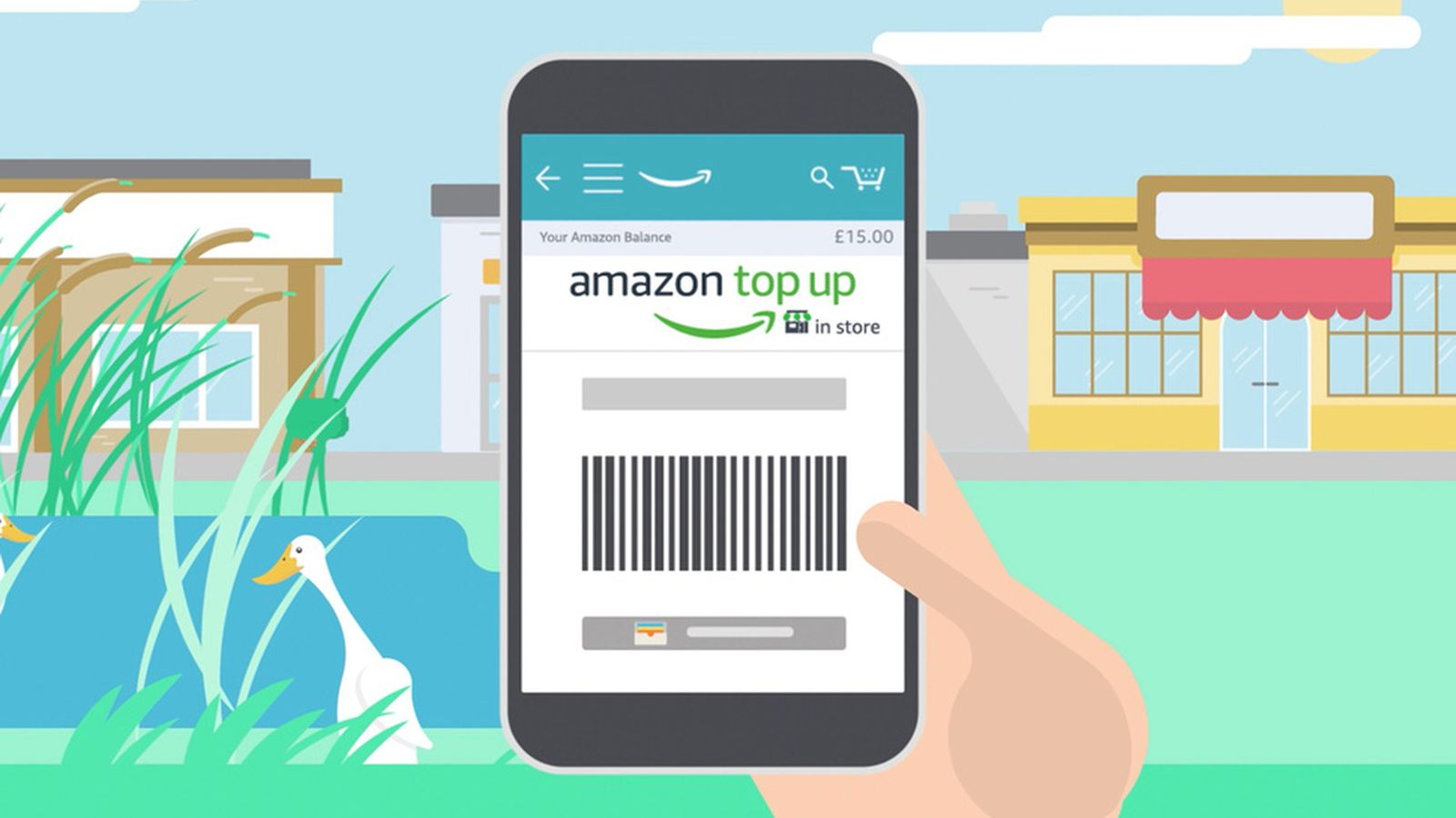 Amazon Cash comes to the UK, but under a different name