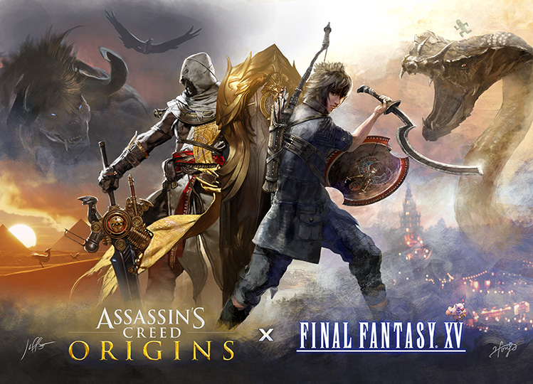 Assassin's Creed And Final Fantasy Crossover Announced