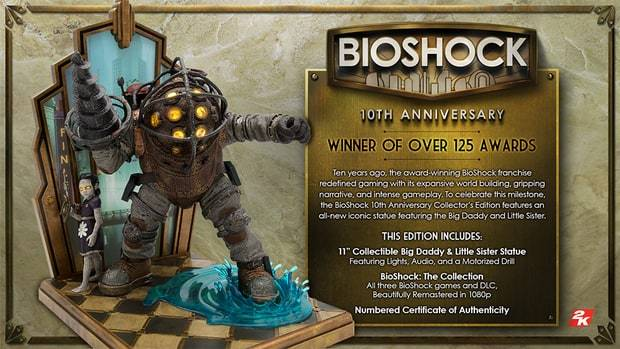BioShock Gets $200 Collector's Edition For Its 10th Anniversary
