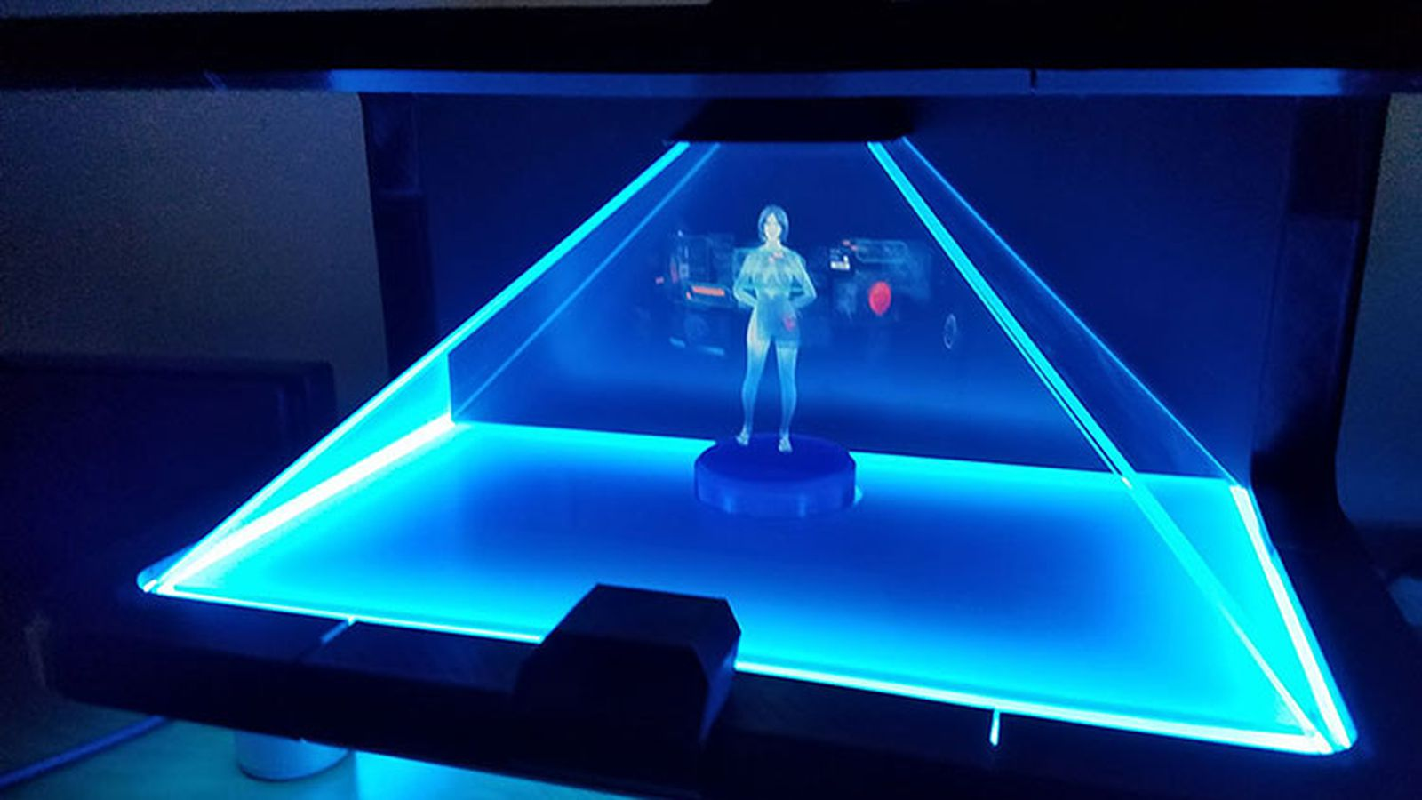 Watch a working concept of a holographic Cortana assistant