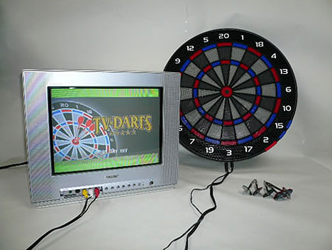 Electronic Dart Board from Japan