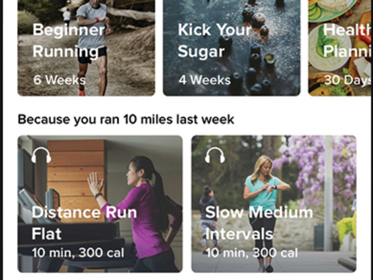 ​Fitbit tips data, services strategy with coaching, health program app