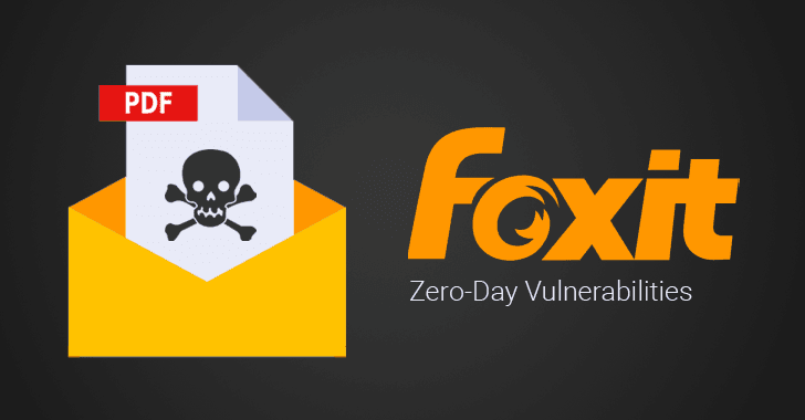Two Critical Zero-Day Flaws Disclosed in Foxit PDF Reader