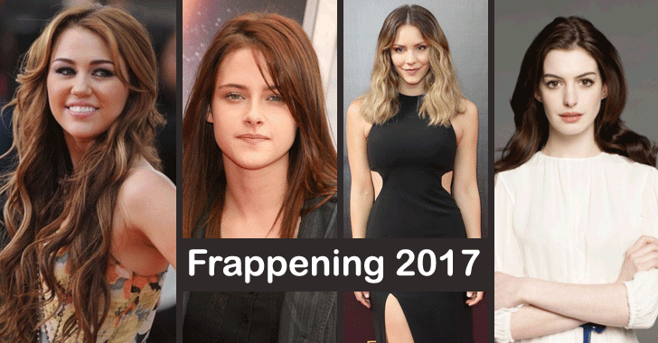 Frappening 2017: More Celebrity Nude Photos Hacked and Leaked Online