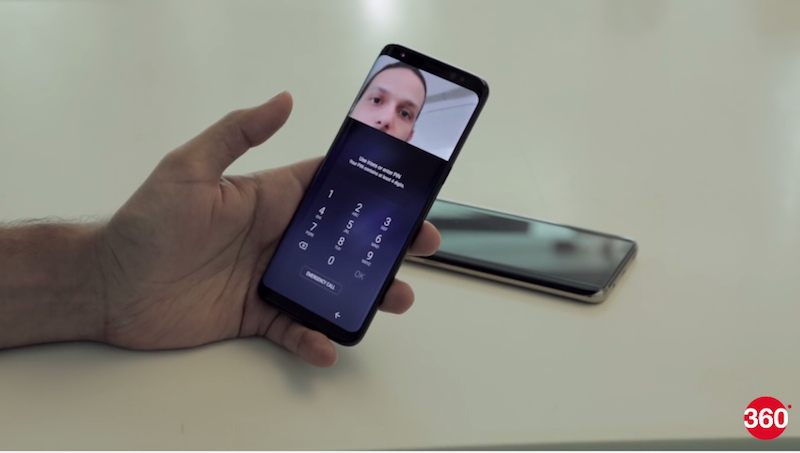 Samsung Galaxy S8 Iris Scanner Bypass Method Is Unrealistic, Claims Samsung