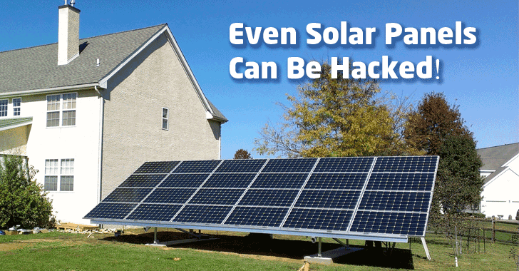 Critical Flaws Found in Solar Panels Could Shut Down Power Grids