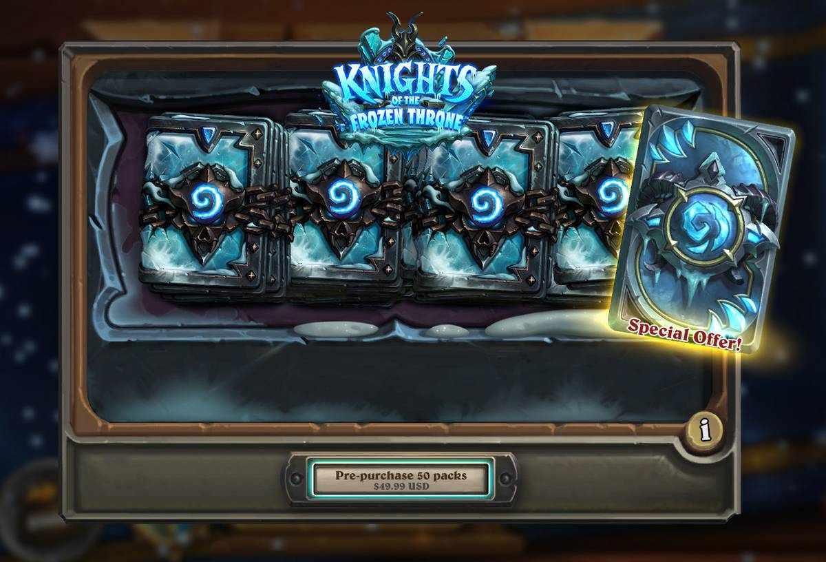Hearthstone's 'Knights Of The Frozen Throne' Released August 10