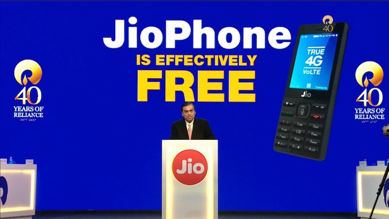 Jio Phone Launched: Price, Plans, Booking Details, and Everything Else You Need to Know