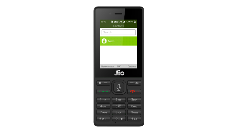 Jio Phone Launch to Kickstart Action in Entry-Level Smartphones Segment: Research