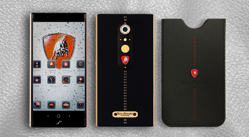 Lamborghini Alpha-One Is a $2,450 Smartphone That Lives in the Past