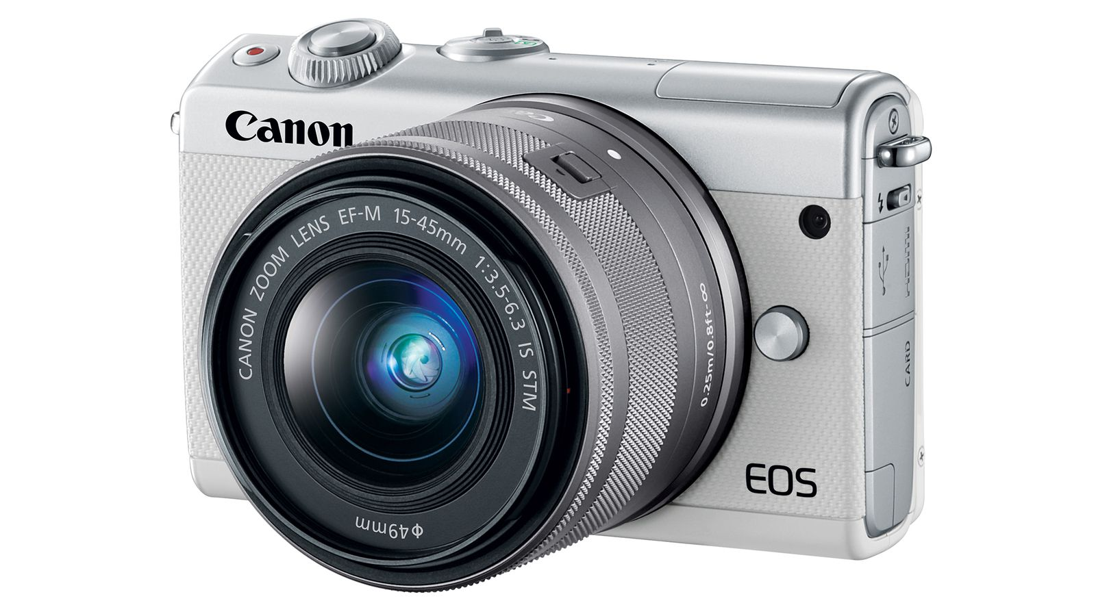 Canon's new mirrorless camera is like an M5 in a smaller (and cheaper) body
