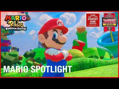 New Mario + Rabbids Kingdom Battle Character Trailer Released