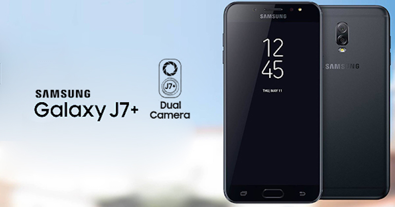 Samsung Galaxy J7+ to Sport Dual Camera Setup, Facial Recognition, Bixby Support: Report