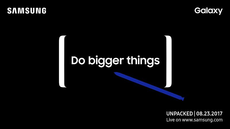 Samsung Galaxy Note 8 256GB Variant Tipped in Leaked Promotion Material