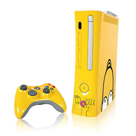 Xbox 360 turns yellow