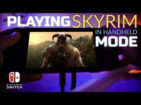 Skyrim For The Nintendo Switch Demoed On Video