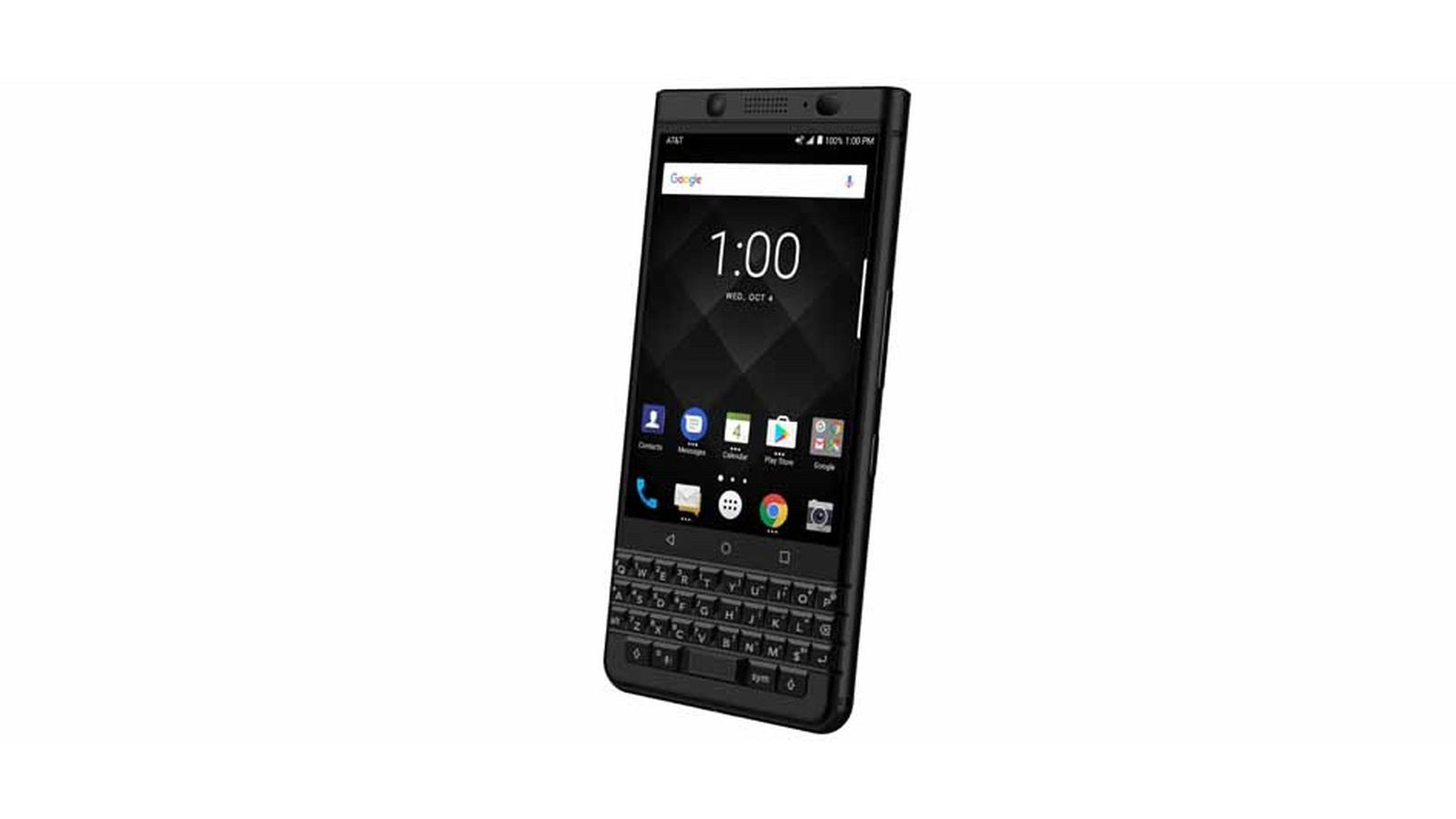 A space black version of BlackBerry