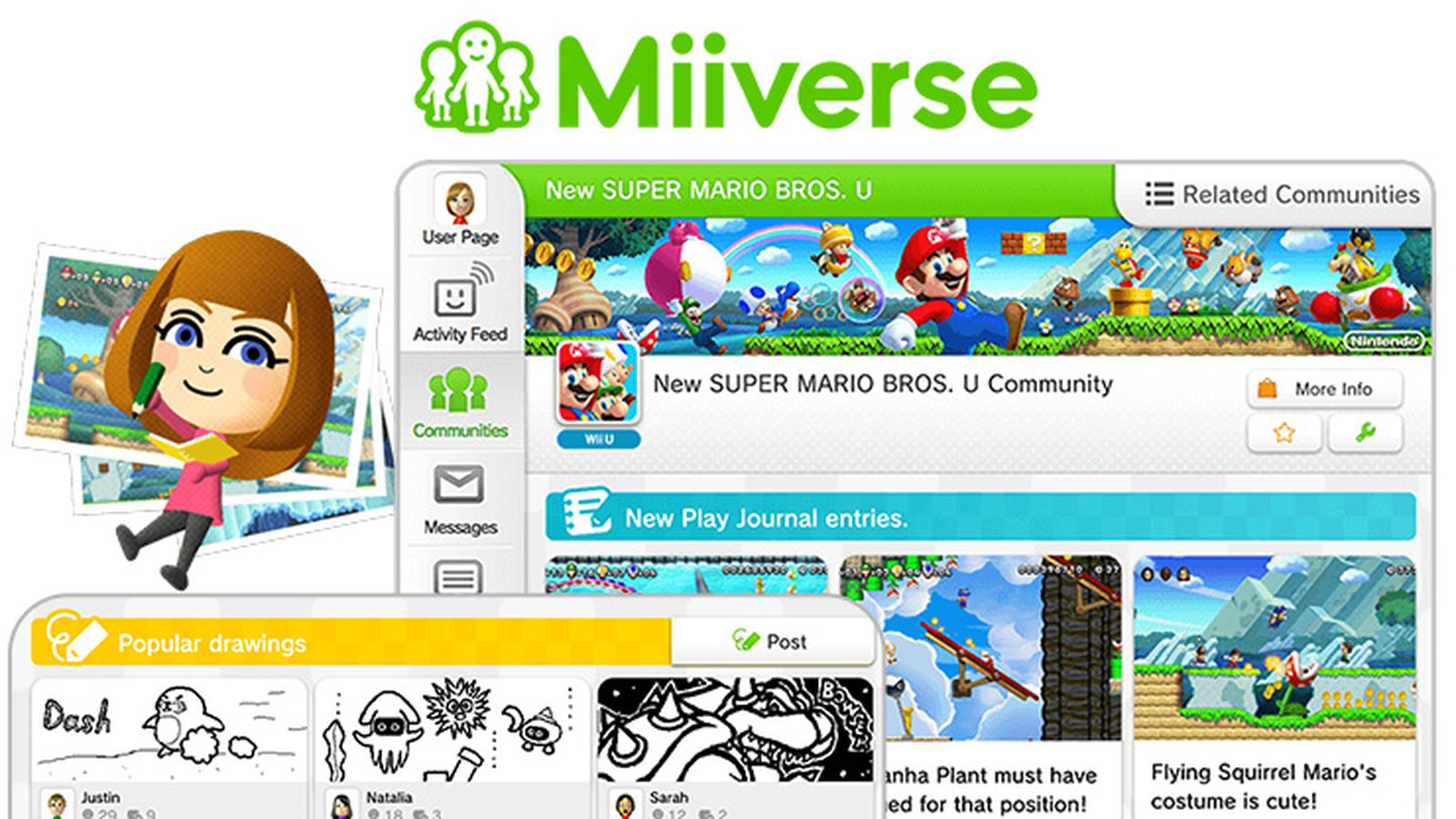 Nintendo is killing its Miiverse social network