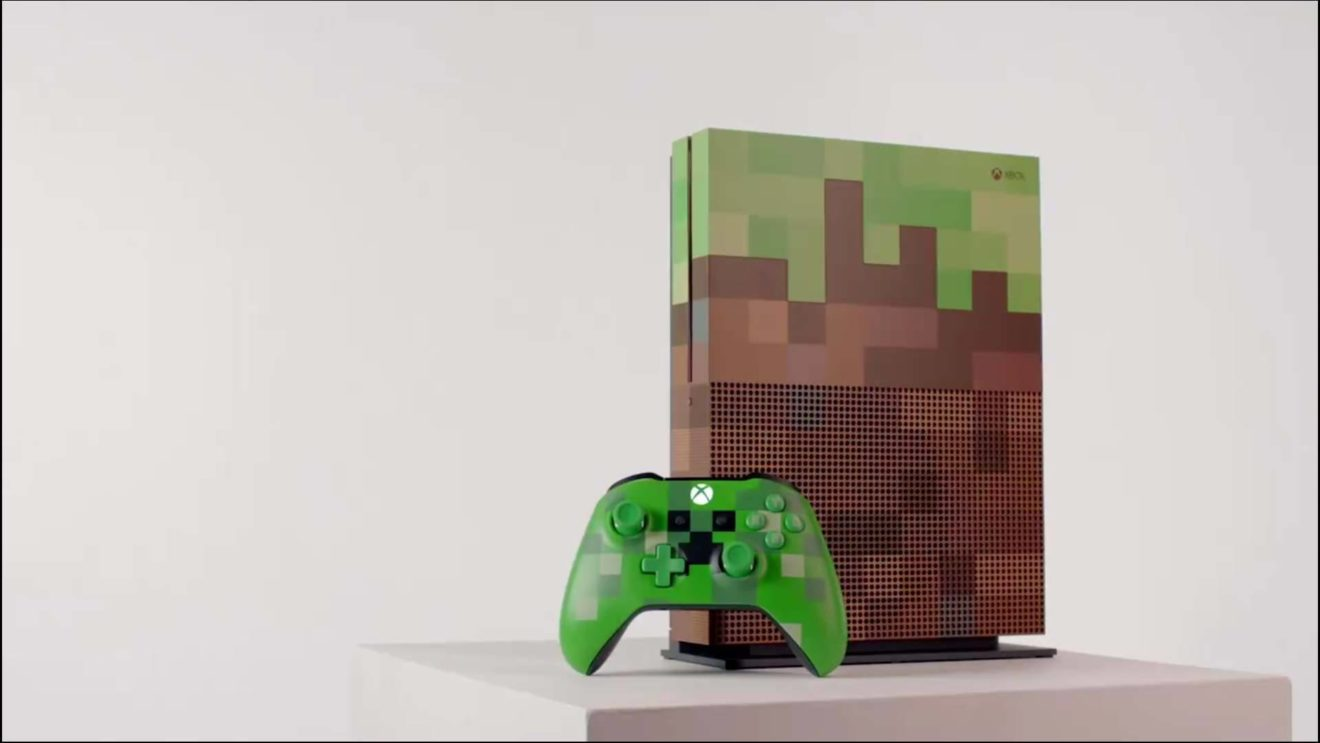 Microsoft Likely To Unveil Xbox One S Minecraft Edition