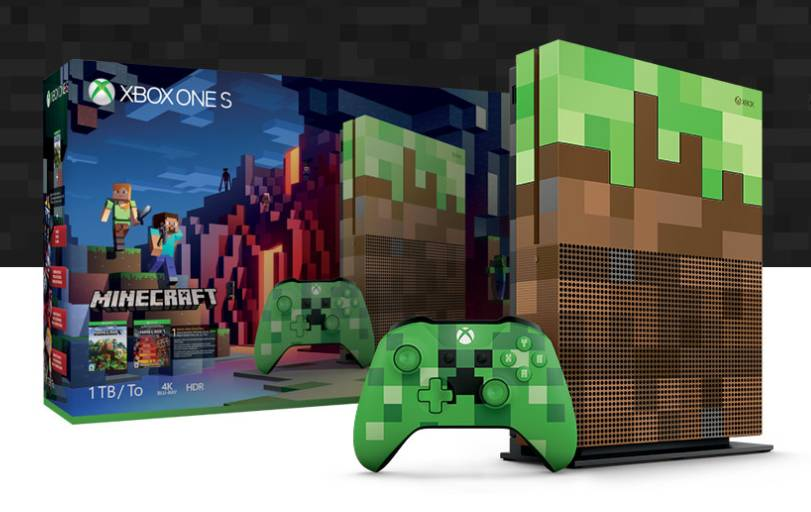 Xbox One S Minecraft Limited Edition Bundle Confirmed